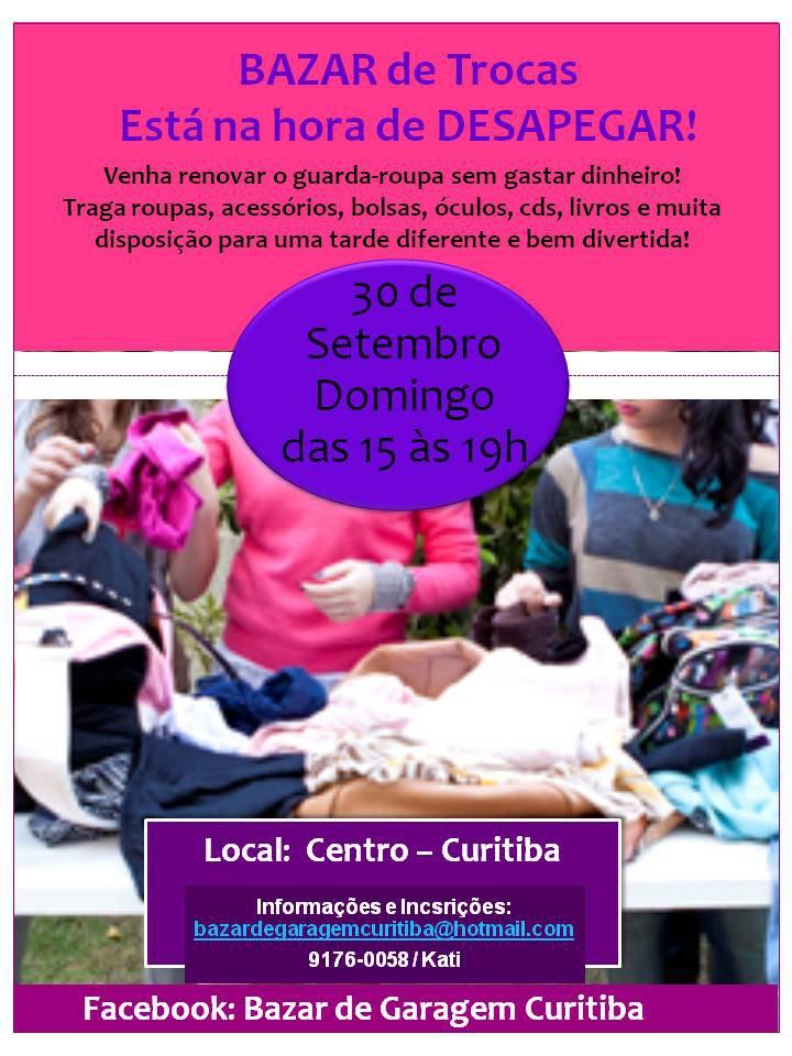 4c18803b029 Domingo tem bazar meninas! – Eu quero ajudar Curitiba